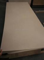 MDF factory made best price poplar WBP glue bleach white melamine film faced MDF