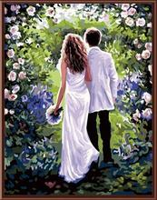 painting by numbers kit with women and man picture 2015 hot photos GX6480