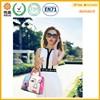 New design fashion pu cosmetic handbag bag