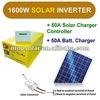 1600w output 24V 50A pure sine wave solar power inverter UPS off grid inverter
