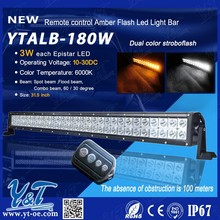 Y&T LED Spot/flood/combo beam light bar! led light bar with wireless remote control for car accessor used offroad parts