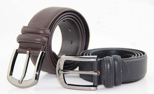 Hangzhou trading company pin buckle man leather belt