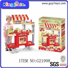 Top quality children funny safe material toy kitchen play set