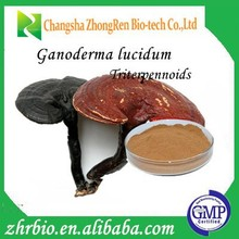 100% pure natural Low Price Ganoderma Lucidum Extract Tritepene saponins 8%