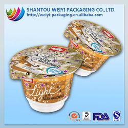Strong heat seal roll aluminum foil lid film food grade