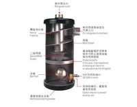 HPEOK Helical refrigeration oil separator
