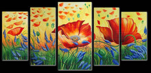 Directly Factory Wholesale Abstract Group Painting for Decoration 41411