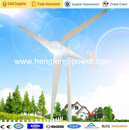 3KW small wind generator energy wind turbine residential AC On Grid ...