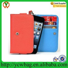 rfid wallet with mobile phone holder