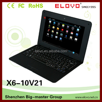 """Android 4.4 Netbook with Bluetooth 10"""" VIA touch screen laptop"""