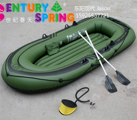 Pass EN-71 camouflage PVC inflatable sports boat for two person