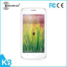 1.2 GHz Dual core Dual sim card Dual Bar tipo 4 GB + 512 MB 1600 mAh tela de toque flip Dual sim telefone móvel