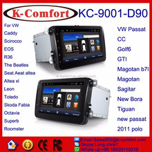 K-comfort Android car dvd player for vw beetle with SWC GPS +Radio +RDS BT+SD +USB CD/DVD IPOD Aux-in 10.2 inch