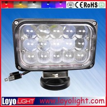 45w high low beam 7'' inch rectangle 45w heavy duty high powered led tractor working lights
