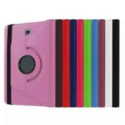 360 Degree Rotating Stand Litchi Leather Cover Case for iPad 2/3/4