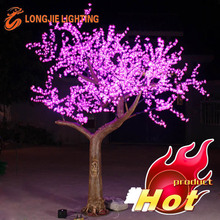 3024 led H: 3m LED pink simulation cherry tree/led christmas tree
