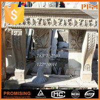 customized natural stone stone marble fireplace micro marble fires