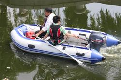 cheap inflatable boat sea boat deep V inflatable boat aluminum floor inflatable boat