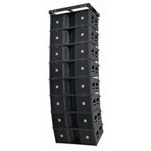 "Dual 12"" Three-Way Tri-amp Line Array Speaker Operation Double 12"" High Power Stadium Speaker/Outdoor Line Array"
