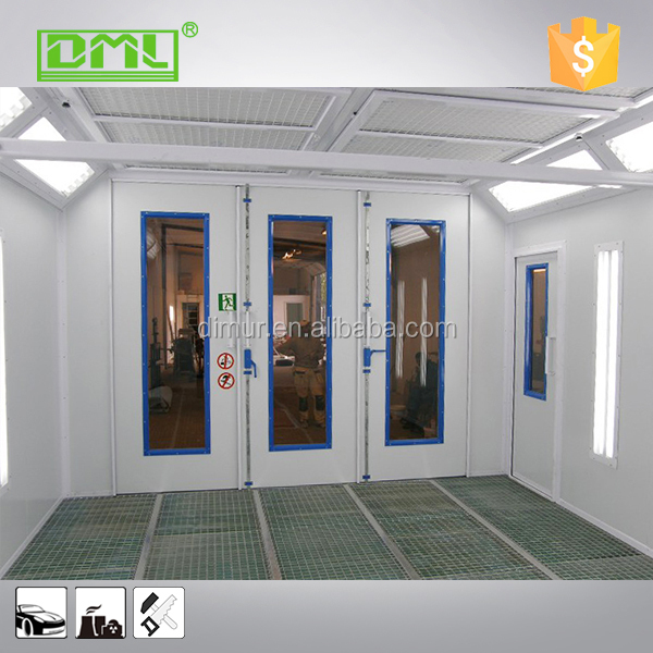 Pay And Spray Paint Booths