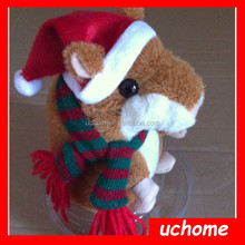 Uchome russian talking hamsters /Christmas Hamster/ Takara Tomy Hamster Pet