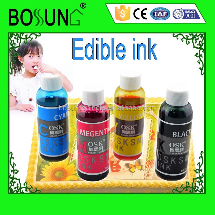 Cake Decorating Edible Ink : Sgs Certificate Cake Use Edible Printer Ink For Hp-canon ...