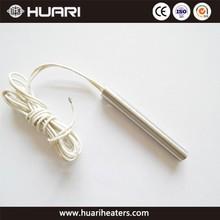 High temperature high density high watt electric cartridge heaters
