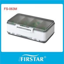 Firstar silver waterproof al pill box