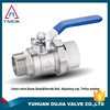 gas brass ball valves full port brass ball valve with new bonnet Stainless Steel Stem and Ball and Handle