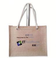 2015 cheap custom printed custom printed jute bags wholesales wholesale/ winnie the pooh shopping bags/ uk flag bag