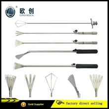 fixed fan retractor with 5 fingers, pendable retractor, flexible retractor