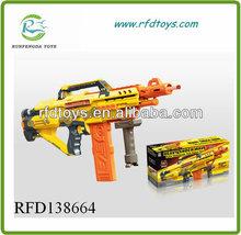 Electric soft play gun plastic soft guns game for boy soft bullet gun toy