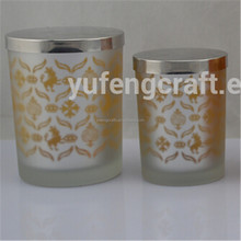 laser candle holder with metal lid tealight candle