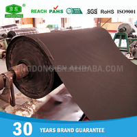 China factory custom high quality nbr cloth inserted rubber sheet