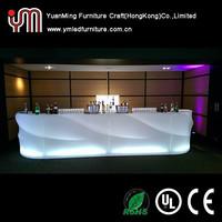 Modern Colorful Bar Table Led Illuminated Table Furniture Led Bar Table