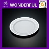 Elegant Disposable plastic salad plates and dinner plates