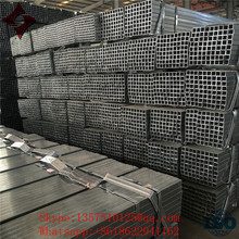 From china manufacture and standard Hot Dipped Galvanized Square Steel pipe