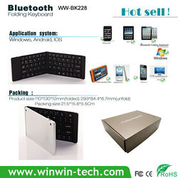 Mini foldable tablets foldable wireless keyboard with case