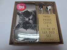 supply a lot of earphone for promotion gift earphone and phone shell