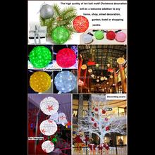 outdoor christmas led light ball outdoor christmas lighted ornamental balls christmas led light balls
