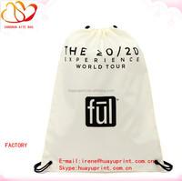 cheap nylon foldable drawstring bag