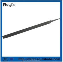 Venta caliente alta calidad de acero archivo triangular con dureza HRC62-65