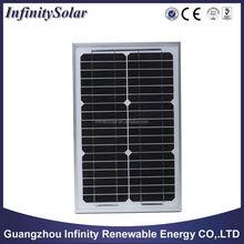 15W 18V Monocrystalline silicon Solar Panel used for 12V photovoltaic power home system 5Watt