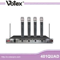401QUAD 4 handheld high VHF bus microphone