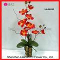 Orquídeas Real Touch Arrangemetns flores de seda al por mayor