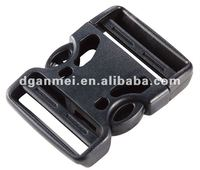 plastic special side release buckle for bag