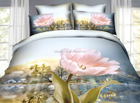 new design sexy red rose bedding set luxury 3d bedding set