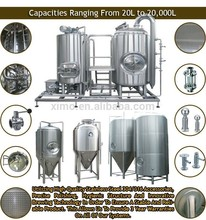 Professional micro brewery equipment production line