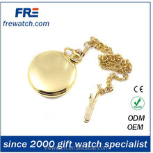 golden modern cartoon pocket watch for japan market anime design pocket watch