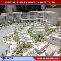 Island house construction model China Good Quality Miniature Building Model Making